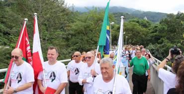 Peregrinação dos aposentados e pensionistas de Santa Catarina visitaram o Santuário