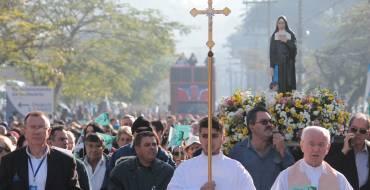 Festa de Santa Paulina reunirá milhares de fiéis em Nova Trento