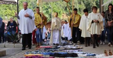 Tapete solidário será preparado para o Dia de Corpus Christi