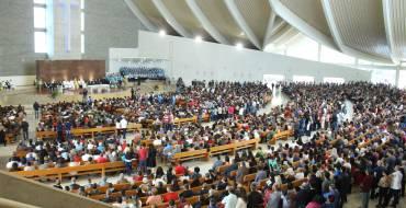Festa de Santa Paulina reúne aproximadamente 20 mil pessoas em Nova Trento