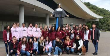Alunos do curso de Turismo e Hospitalidade visitam o Santuário Santa Paulina