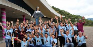 Missionários com Santa Paulina:  Encontro será realizado em outubro