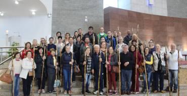 Rota do Rosário: Peregrinos visitam o Santuário Santa Paulina