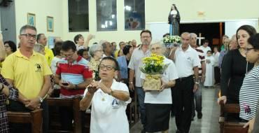 Santa Paulina Peregrina continua visita à Paróquias