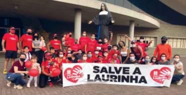 Maratonista corre mais de 90km até ao Santuário, em prol da Campanha Salve a Laurinha.