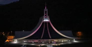 Santuário Santa Paulina em comunhão com a campanha de prevenção ao câncer de mama