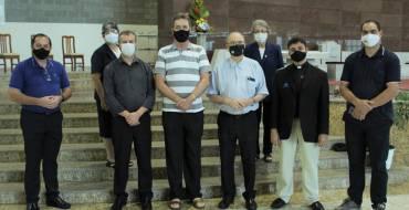 Bispos visitam o Santuário