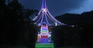 As Luzes e Presépio do Santuário permanecerão até neste domingo