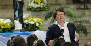 Missa de envio da Irmã Anna Tomelin será neste domingo