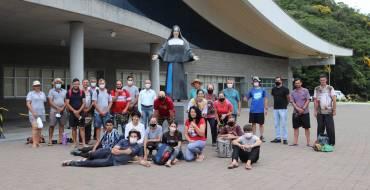 Devotos de Imbuia visitam o Santuário Santa Paulina