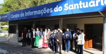 Centro de Informações aos Peregrinos é Inaugurado no Santuário