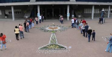 Criatividade tomou conta da Festa de Corpus Christi, no Santuário