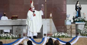 Santuário recebe peregrinação de Padres e Seminaristas