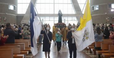 Procissão marca os 30 anos de beatificação de Madre Paulina